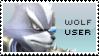 Wolf Stamp by yukidarkfan