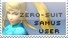 Zero-Suit Samus Stamp by yukidarkfan