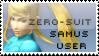 Zero-Suit Samus Stamp by yukidarkfan