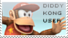 Diddy Kong Stamp by yukidarkfan