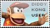 Diddy Kong Stamp by yukidarkfan