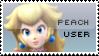 Peach User by yukidarkfan