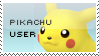 Pikachu Stamp by yukidarkfan