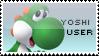 Yoshi Stamp by yukidarkfan