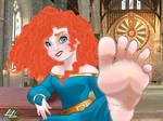 Merida's Scottish Feet