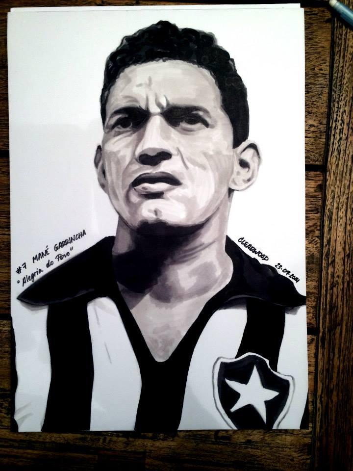Mane Garrincha by OlivierCl