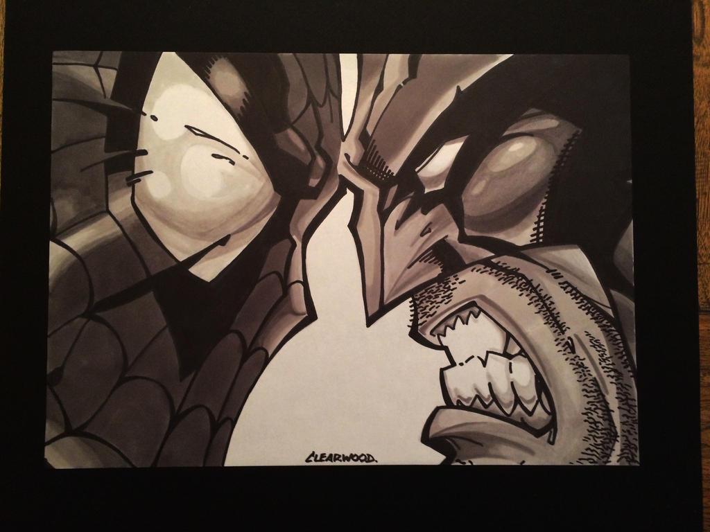 Spidey Wolverine by OlivierCl