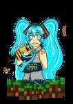 Minecraft Miku
