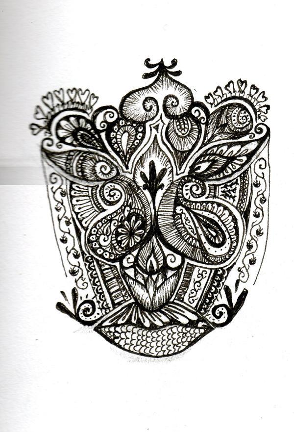 Henna Face Tattoo: Henna'd Face By Anxy On DeviantArt