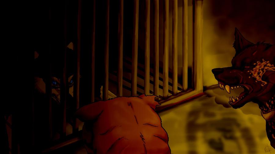 Trapped by HikariSilverEye