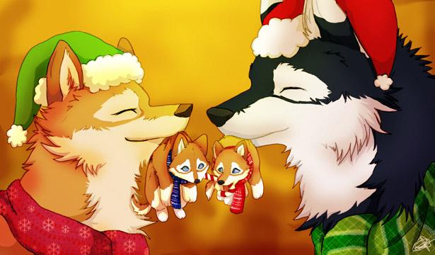 Merry X-mas by HikariSilverEye