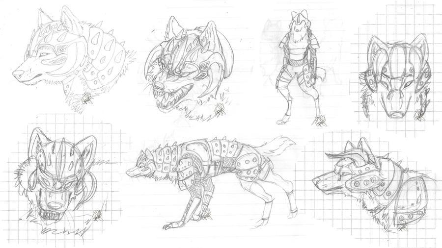 Armor designs by HikariSilverEye