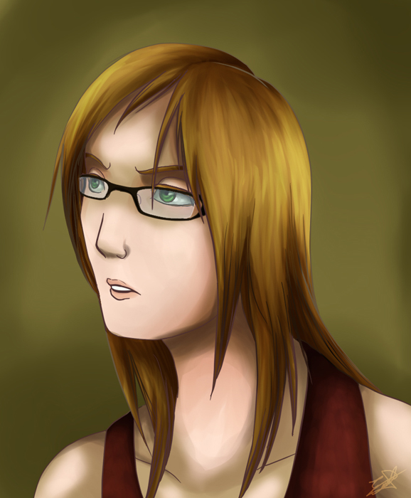 Portrait:Hikari by HikariSilverEye