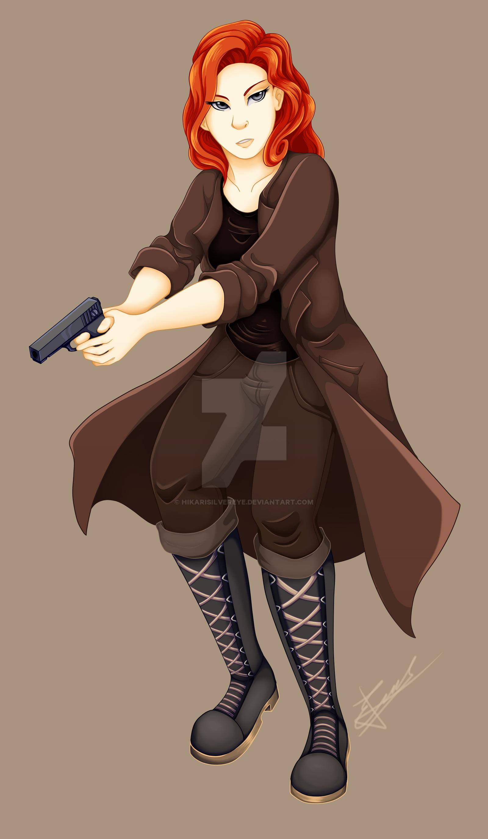 Fiddlestik commission by HikariSilverEye