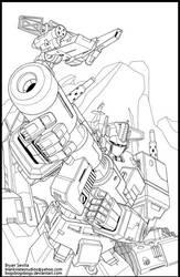 Optimus Prime by BryanSevilla