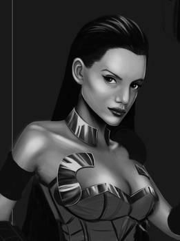 Warrior Nymph Study