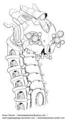 Mech Concept: Caterpillar by BryanSevilla
