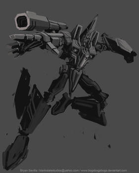 WIP: War for Cybertron Dirge