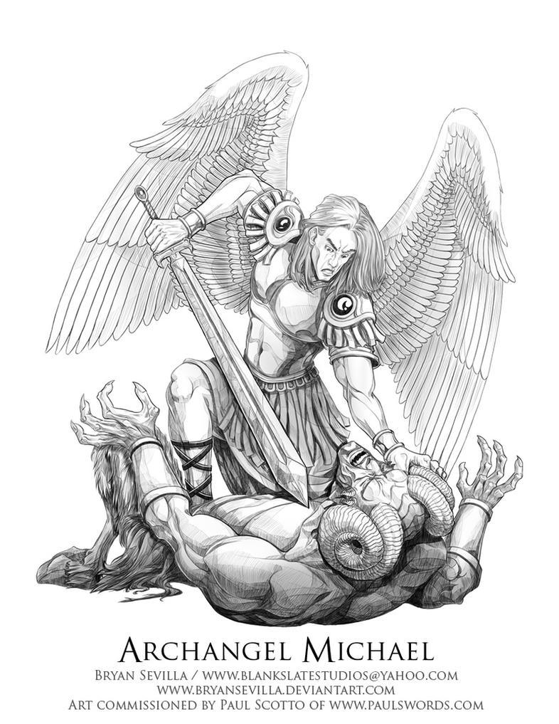 Archangel Michael by BryanSevilla on DeviantArt