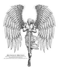 Archangel Michael 2 by BryanSevilla