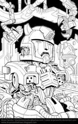 Fan Art: CliffJumper by BryanSevilla