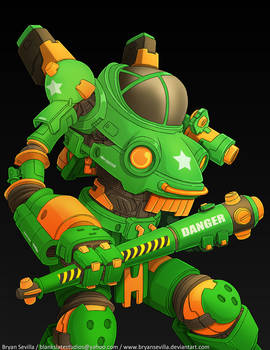 Art Jam 3 (Future Tech): Combat Armor