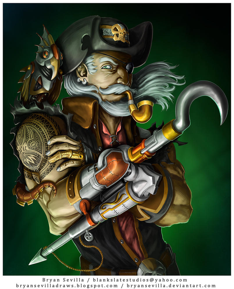 Captain Hook by BryanSevilla