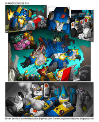 Warbot:Core 01 Page 10 Art by BryanSevilla
