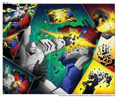 Maketoys: Cross Dimension Page 8 - 9 by BryanSevilla