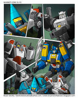 Warbot:Core 01 Page 2 Art by BryanSevilla