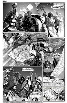 Maketoys: Cross Dimension Issue 01 Page 01