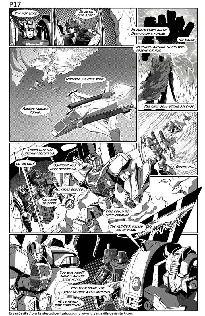 Maketoys: Cross Dimension Issue 01 Page 17 by BryanSevilla