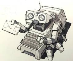 50 Robots: Mail Delivery Bot by BryanSevilla
