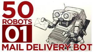 Mail Delivery Bot Mech by BryanSevilla