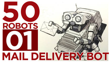 Mail Delivery Bot Mech