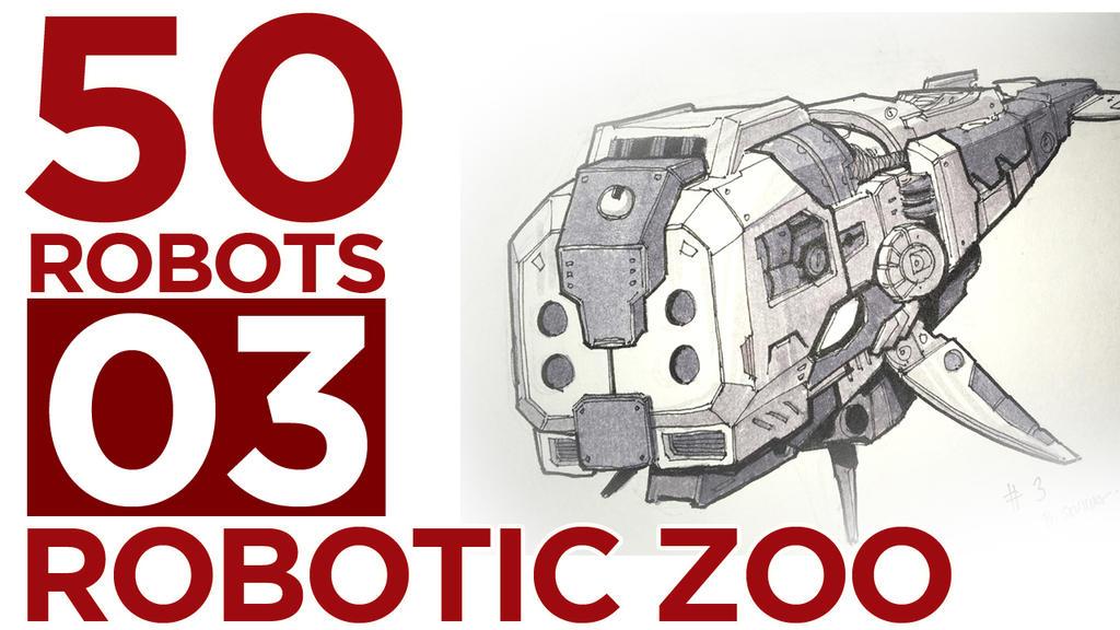 Robotic Zoo by BryanSevilla