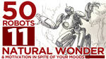 50 Robots 11: Natural Wonder by BryanSevilla