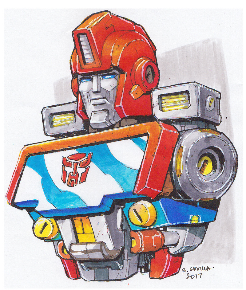 Transformers Fan Art: Ironhide by BryanSevilla
