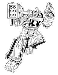 Ironhide - Transformers Siege