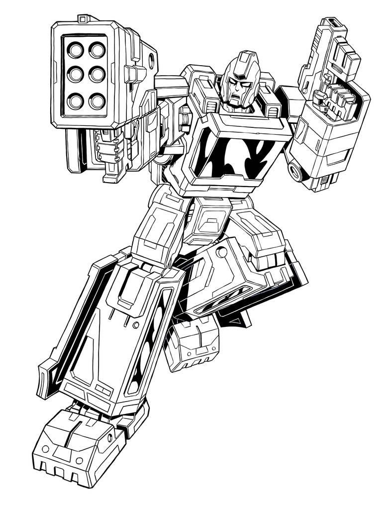 Ironhide - Transformers Siege by BryanSevilla