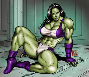 She Hulk by r2roh