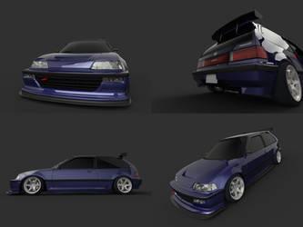 Hellaflush Civic Multi by SamauriPizzaCats