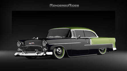 55' Belair doin its thing!