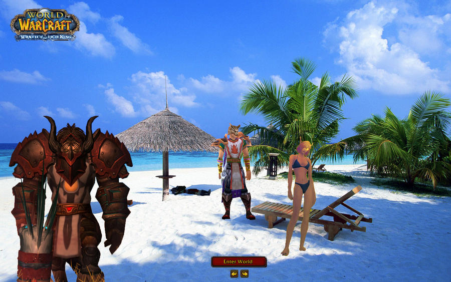 Warcraft beach by katestra