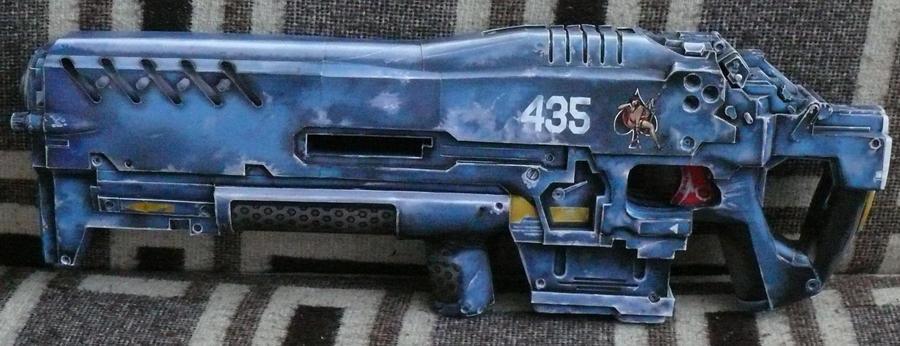 C-14 Impaler Gauss Rifles by Ciej