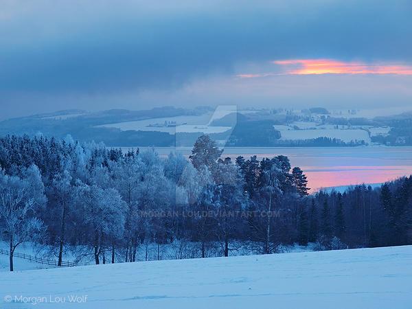 Mjosa fjord by Morgan-Lou
