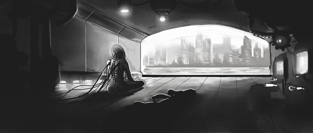 Cyber loneliness by 3ihard