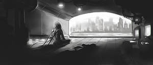 Cyber loneliness by GeoKorf