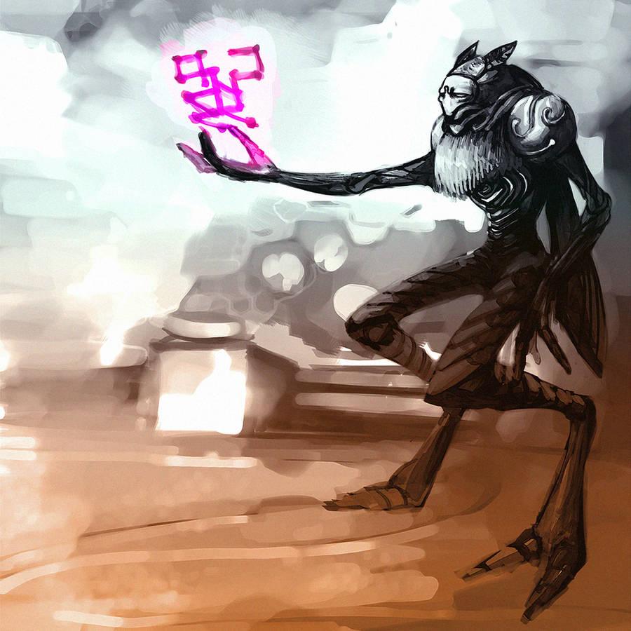 luminoth priest by GeoKorf
