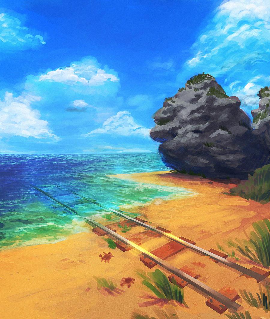 Dream Railway by 3ihard